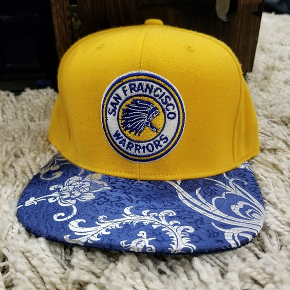 brand new 31dcd e10c9 NWOT Rare Golden State Warriors Snapback. M 5a86f80600450fb940580d32. Other  Accessories you may like. Charlotte Hornets NBA Team Hat
